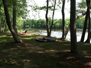 Kayaking on the Catawba