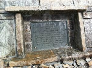 Elisha Mitchell's Tombstone